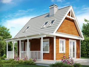 Дома с готовыми проектами под ключ
