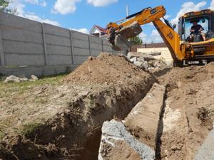 Демонтаж старого фундамента в Вологде